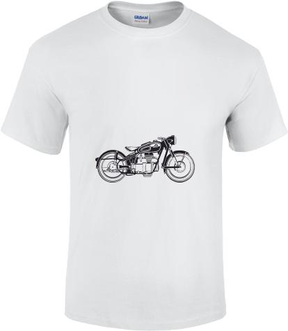 cd8eb469f0b4 Bílé pánské tričko Gildan