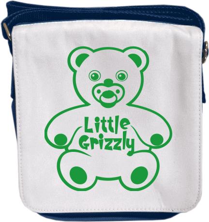 ebd2c9504 Little Grizzly | Taška přes rameno s možností potisku | Kreativator